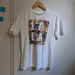 Ardene Los Angeles Floral Graphic Tee
